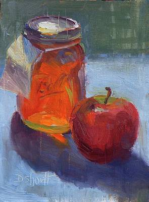 Honey Jar Print by Donna Shortt