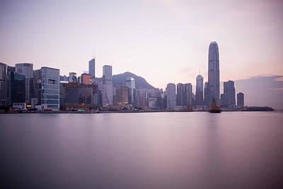 Hong Kong City Landscape Original by Kam Chuen Dung