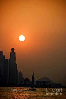 Tsui Photograph - Hong Kong Coast by Ray Laskowitz - Printscapes