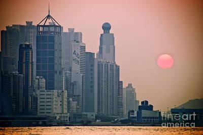 Tsui Photograph - Hong Kong Island by Ray Laskowitz - Printscapes