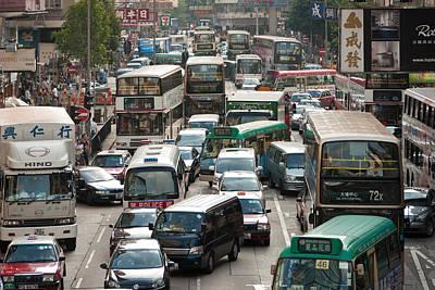 Hong Kong Street View 02 Original by Kam Chuen Dung