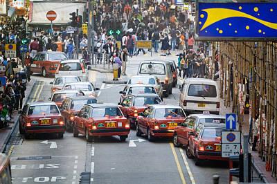 Hong Kong Street View 03 Original by Kam Chuen Dung