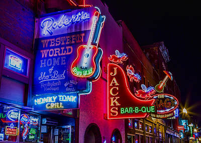 Honky Tonk Broadway Print by Stephen Stookey