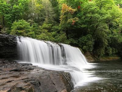Asheville Photograph - Hooker Falls Dupont State Forest by Carol R Montoya