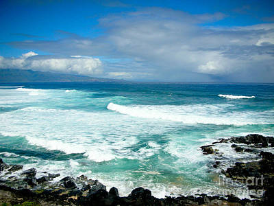Hookipa Beach Maui Print by Kelly Wade