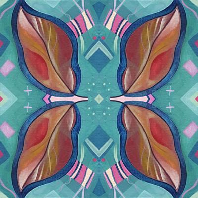 Eternally Digital Art - Hope Does Spring Eternal - T J O D 31 Arrangement 1 by Helena Tiainen