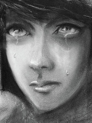 Weeping Drawing - Hope by Ian MacQueen