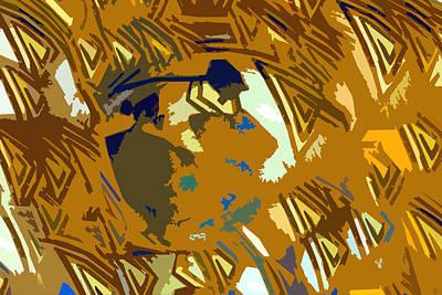Hopi Flute Player Print by David Lee Thompson