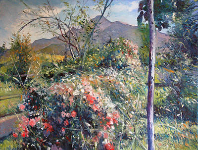 Painting - Horingberg Horn Mountain Eastern Cape South Africa by Enver Larney
