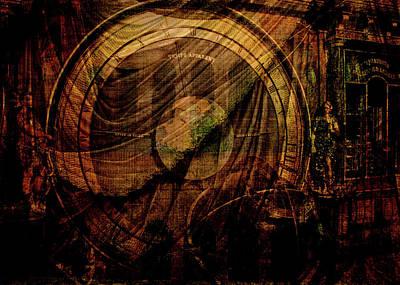 Digital Art - Horloge Astronomique by Sarah Vernon