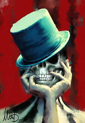 Hat Mixed Media - Horror Freak by Melanie D