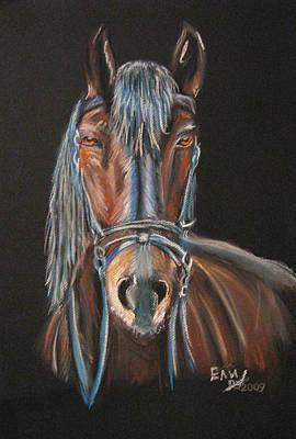 Horse Print by Eli Marinova