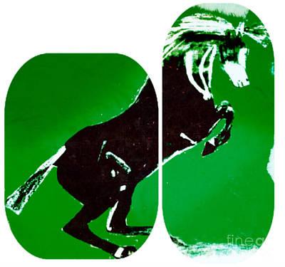 Riddler Painting - Horse Gustavo by Felix Von Altersheim