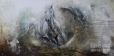 Horse I Print by Anna Carlson