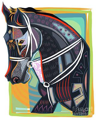 Horse Soul Print by Dania Sierra