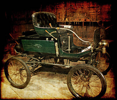 Horseless Carriages Photograph - Horseless Carriage by Ernie Echols