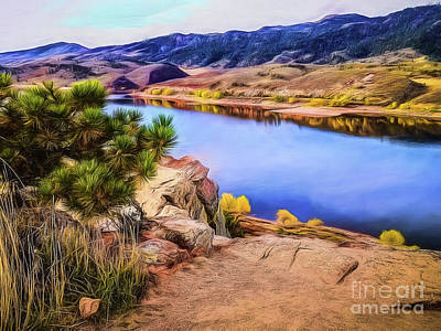 Horsetooth Dreams Print by Jon Burch Photography