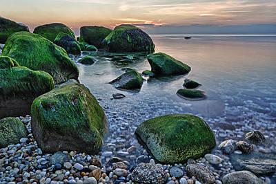 Horton Point Ny At Sunset Print by Rick Berk
