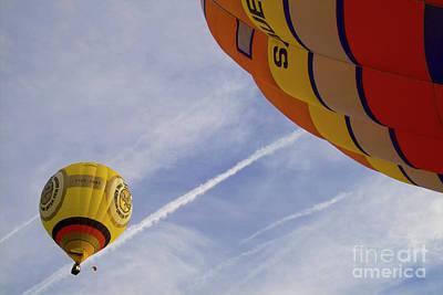 Ornamental Photograph - Hot-air Balloning by Heiko Koehrer-Wagner