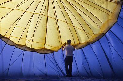 Warner Park Photograph - Hot Air Balloon - 11 by Randy Muir