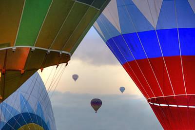 Cappadocia Photograph - Hot Air Balloons Cappadocia by Joana Kruse