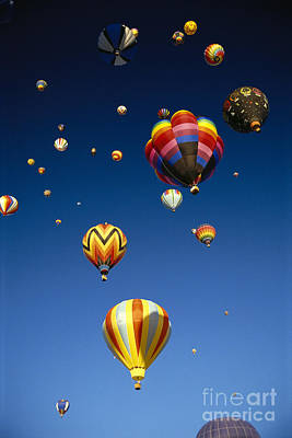 Hot Air Balloons Print by Michael Howell - Printscapes