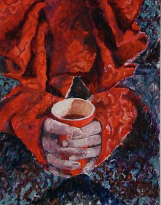 Hot Chocolate Print by Elisabeth De Vries