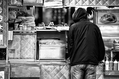Hot Dog Stands Photograph - Hot Dog Man by John Rizzuto