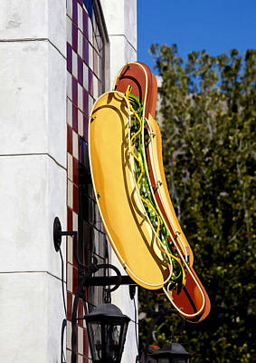 Hotdog Photograph - Hot Dogs by Art Block Collections