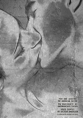 Berlin Mixed Media - Hot Love Cold War by Steve K