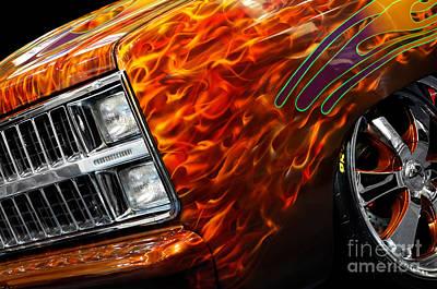 Hot Rod Chevrolet Scotsdale 1978 Print by Oleksiy Maksymenko