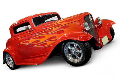 Hot Rod Ford Coupe 1932 Print by Oleksiy Maksymenko