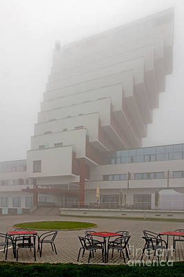Architectur Photograph - Hotel Panorama Slovakia by Christian Hallweger
