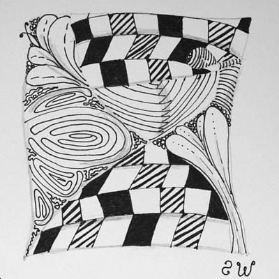 Hourglass Drawing - Hourglass Refresher by Sharra Walton