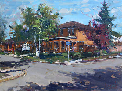 House At Goldmar Dr Mississauga On Original by Ylli Haruni