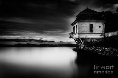 House By The Sea Print by Erik Brede