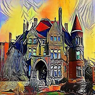 house england - My WWW vikinek-art.com Print by Viktor Lebeda