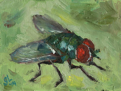 House Fly Original by Grant Lounsbury