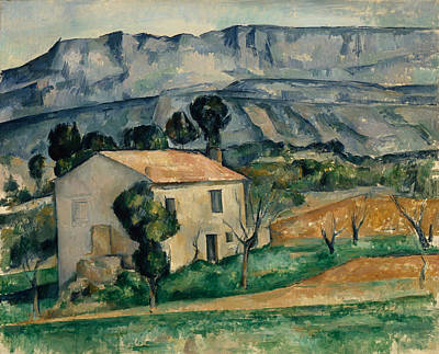 House In Provence 1886-1890 Print by Paul Cezanne