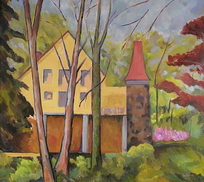 Barton Painting - House Of Clara Barton by Don Perino