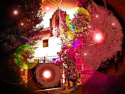Magician Photograph - House Of Magic by Ingrid Dance