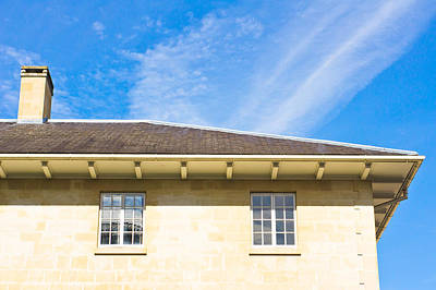 House Roof Print by Tom Gowanlock