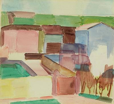 House Painting - Houses by Albert