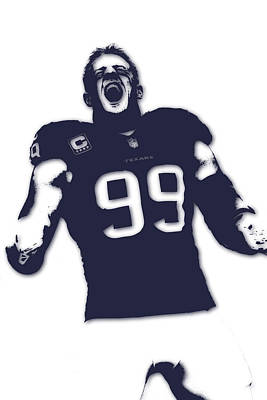 Jj Photograph - Houston Texans Jj Watt by Joe Hamilton