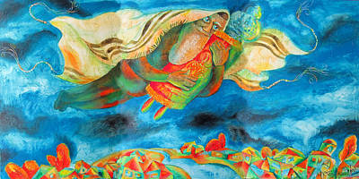 Simchat Torah Original by Leon Zernitsky