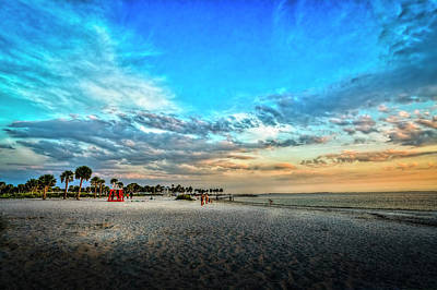 Spring Scenes Photograph - Howard Park Beach by Marvin Spates