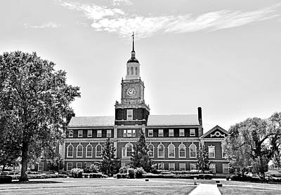 Howard University - Founders Library Print by Brendan Reals