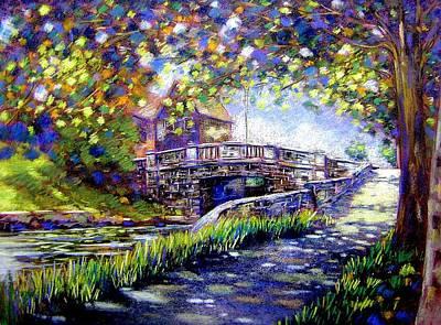 Fruit Tree Art Giclee Pastel - Huband Bridge Dublin City by John  Nolan