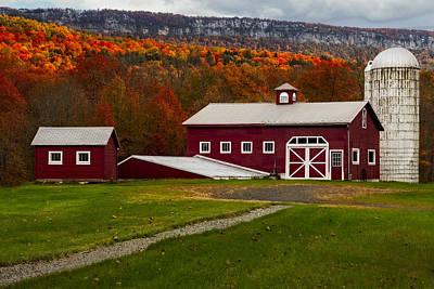 Suburban Digital Art - Hudson Valley Ny Countryside by Susan Candelario