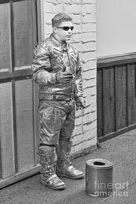 Human Silver Manikin Original by Linda Phelps